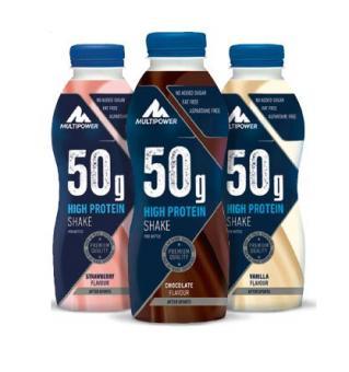 Multipower 50g Protein Shake, 500ml
