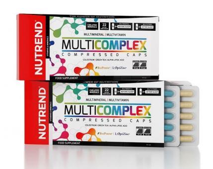 Nutrend Multicomplex Compressed Caps, 60 Kaps.