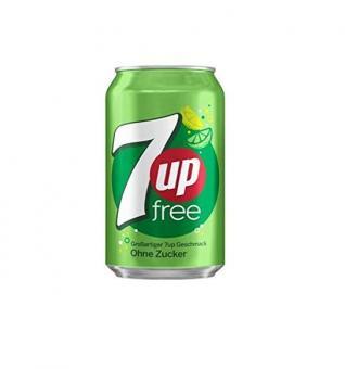 Pepsi 7 Up Zero, 330ml