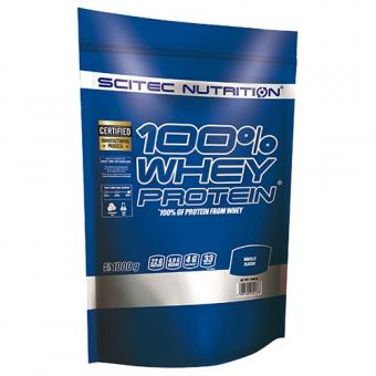 Scitec Nutrition 100% Whey Protein, 1000g