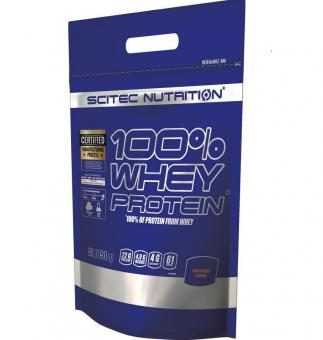 Scitec Nutrition 100% Whey Protein, 1850g
