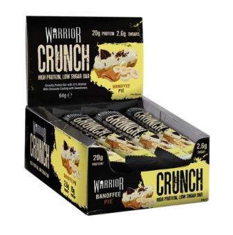 Warrior Crunch Bar, 1 Riegel, 64g Chocolate Chip Cookie Dough