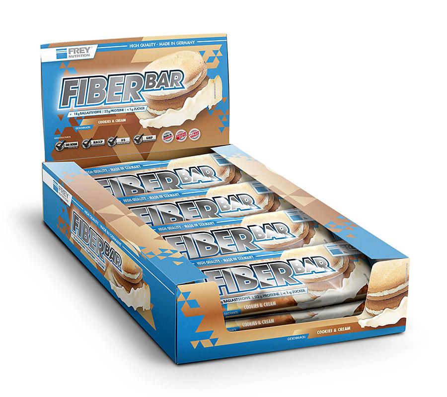 frey nutrition fiber bar 1 riegel 60g g nstig kaufen im online shop. Black Bedroom Furniture Sets. Home Design Ideas