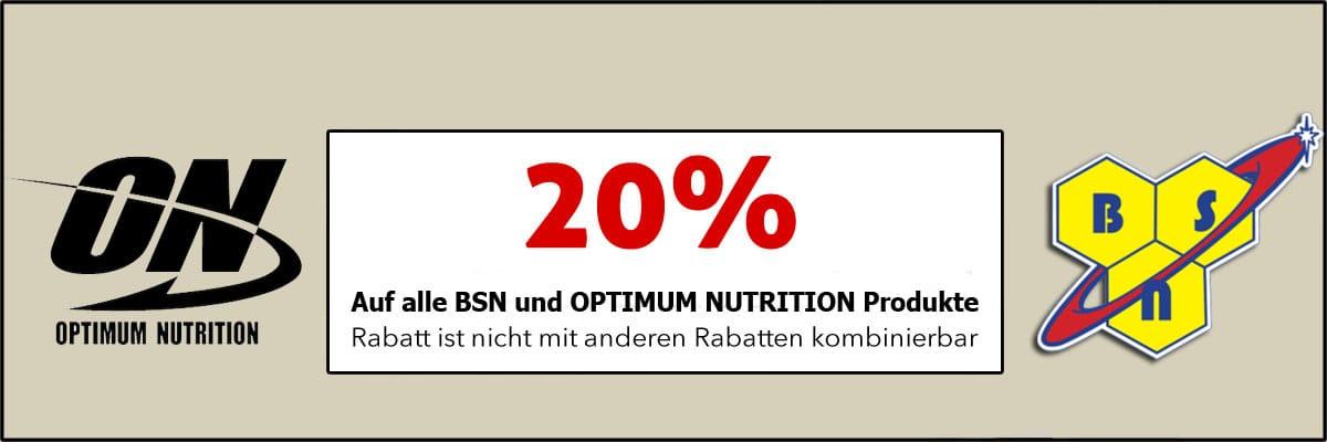 BSN & Optimum 20 off